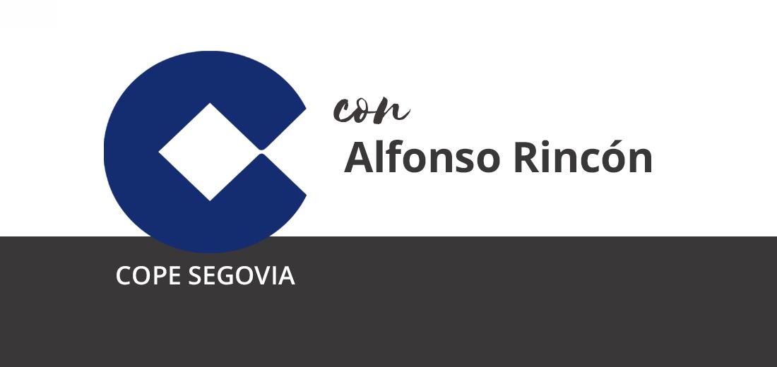 Alfonso Rincón en Cope Segovia