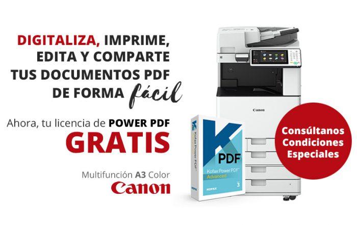 Oferta en impresoras CANON multifunción